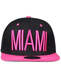 Original Snapback (one size, Miami City Schwarz / Pink) + Original MY CHICOS Sticker