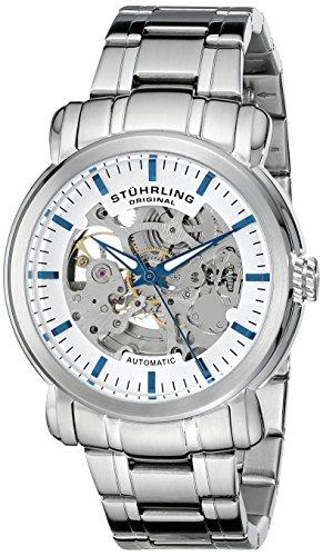 Stuhrling Original 387.33112 Herren-Armbanduhr Analog Automatik Edelstahl