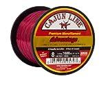 Cajun Line Red Advantage 1/4 Pfund Spule mit Testfischschnur, Unisex-Erwachsene, CLADVAN50QB, rot,...