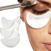 50 protectores desechables para sombra de ojos, producto de maquillaje o belleza, protectores para aplicar cosméticos como extensiones de pestañas y maquillaje de labios