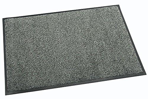 Premium / Profi Schmutzfangmatte ca. 85 x 150 cm, Grau, für Industrie & Gewerbe, bis 60°C...