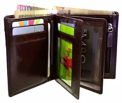 arpera Men's Wallet (Brown) (C11429)