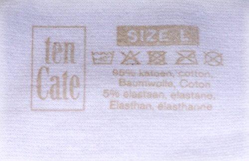 Ten Cate Damen Hip-Shorts Hipster BASIC 3-Pack - Baumwoll-Mix Black