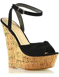 2837a8bbfe093 Amazon.it  ESSEX GLAM - Scarpe col tacco   Scarpe da donna  Scarpe e ...