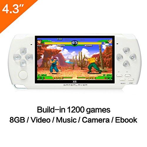 Spielkonsole, 10,9cm (4,3 Zoll) Display, 8GB, über