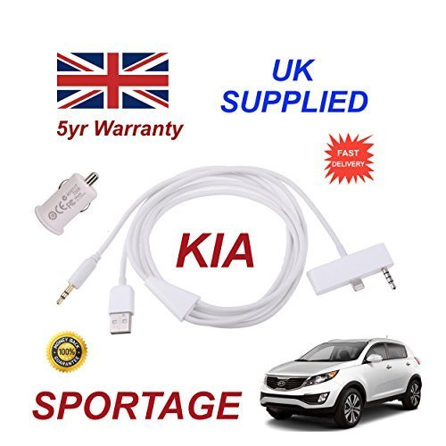 kia-sportage-iphone-5-5c-5s-audio-cable-with-35mm-aux-usb-cable-with-usb-power-adapter