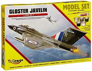 Mirage Hobby 872093-Maqueta de Gloster Javelin F (AW) MK 9(British subsónico Interceptor Aircraft),