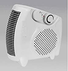 Varshine® Premium Fan Heater Heat Blow || Silent Fan Room Heater (White) || with 1 Season Warranty || M-03