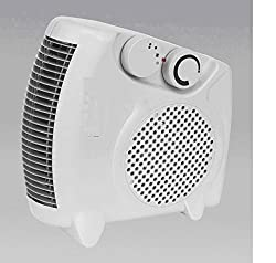 STARVIN Premium Fan Heater Heat Blow || Silent Fan Room Heater (White) || with 1 Season Warranty || M-01