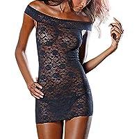 Damen Satin Nachthemd Babydoll Nachtkleid Sleepwear Kleid Babydoll Set Spitze Bodysuit Unterwäsche Nachtwäsche... preisvergleich bei billige-tabletten.eu