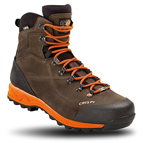 Crispi Scarpe Calzature Scarponi Stivaletto Waldres Marrone, Brown Orange Uomo 42