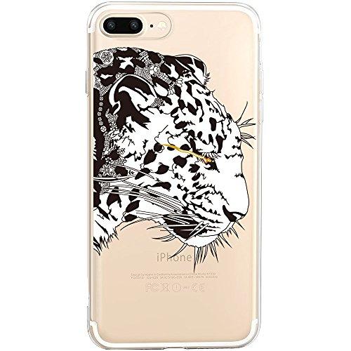 iPhone 6S Hülle, TrendyBox Weiche TPU Ränder mit hartem PC Rückdeckel Schutzhülle Hülle für iPhone 6 6S (Astronaut) Panther