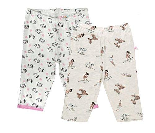 Sofie & Sam Sofie & Sam Bio-Baumwolle 2er Pack Combo 6-9 Monate Baby Schlafanzug Hosen Pajama