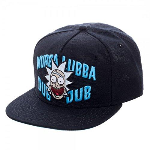 Rick & Morty - Gorra de béisbol - para hombre negro negro Talla únic
