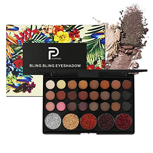 Start Makers Eyeshadow Palette Earth Warm Matte Glitter Shimmer (Set of 29 Colour)