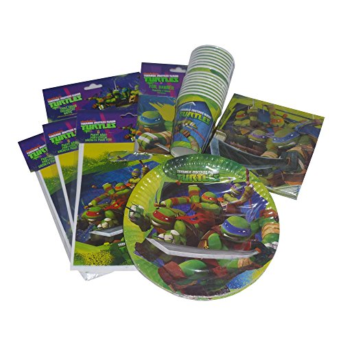 Teenage Mutant Ninja Turtles, Party, Geburtstag Party-set für ()