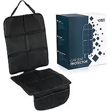Cubre Asientos Para Coche | Cubierta Protectora | Protector de Asiento, Funda Protectora | Compatible con ISOFIX | Diseño Universal | Color Negro | por Paents.