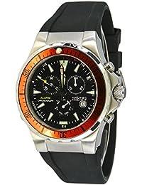 Nautec No Limit Herren-Armbanduhr XL Betta Chronograph Quarz Kautschuk BT QZ-ALA/RBSTORBK