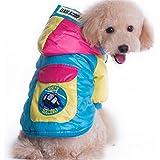 Invierno Impermeable Grueso Abrigo Chaqueta Con Capucha Traje Para La Nieve Para Esquiar Abrigos Ropa Para Los Pequenos Grandes Perros Medianos