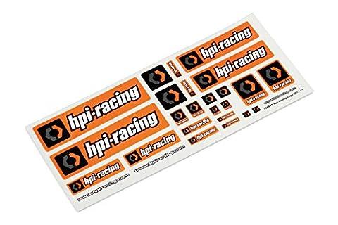 HPi Racing 106672 Racing Logo Decal Sticker Sheet [General HPi R/C Logos]