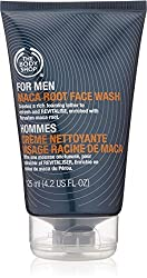 The Body Shop Maca Root Face Wash for Men, 4.2-Fluid Ounce