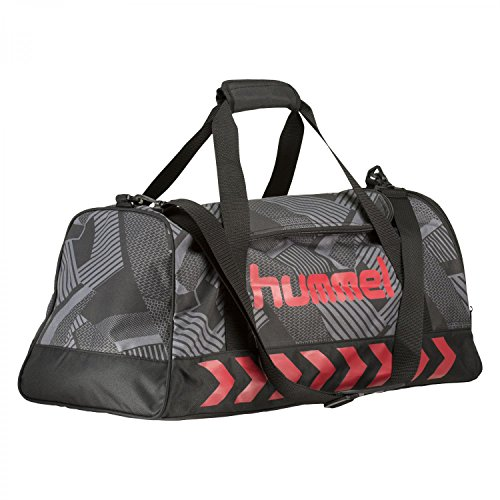 Hummel Sporttasche New Nostalgia Sports Bag 40088 Black/Scarlet S
