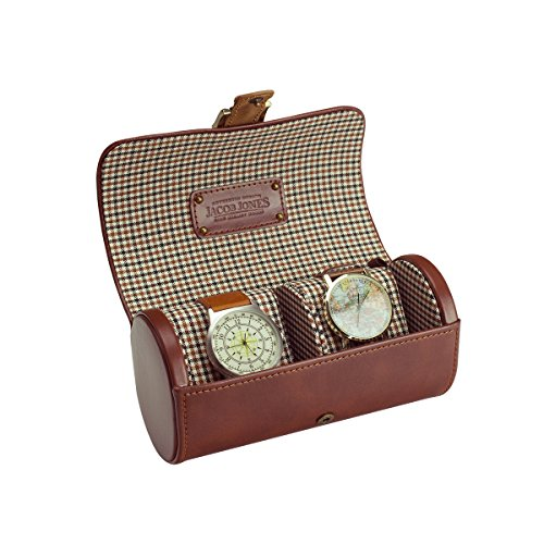 jacob-jones-tan-watch-tube-with-brown-checker-cotton-lining