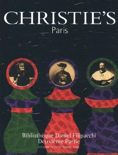 Bibliothèque Daniel Filipacchi, Le Surréalisme et ses Alentours - Deuxième Partie - Vente à Paris le 21 Octobre 2005