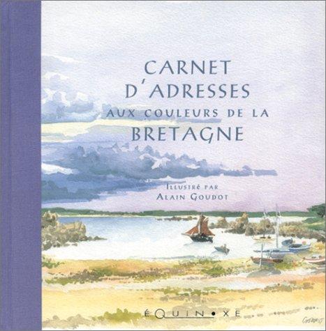 Carnet d'adresses aux couleurs de la Bretagne