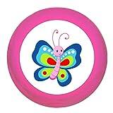 Schrankgriff Schmetterling rot blau pink Holz Kinder Kinderzimmer 1 Stück Waldtiere