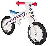 BIKESTAR Mitwachsendes Kinder Laufrad Holz Lauflernrad Kinderrad für Jungen Mädchen ab 2 - 4 Jahre...