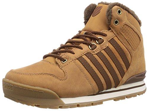 K-Swiss SI -18 PREMIER HIKER, Herren Sneakers, Braun (CGNC/BSN/ANTQBRSS - 211), 44.5 EU (10 Herren UK) (Low Hiker Schuhe)