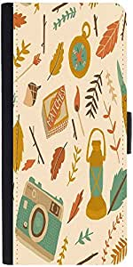 Snoogg Traveller Patterndesigner Protective Flip Case Cover For Samsung Galax...