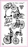 Reite mein Fahrrad // Clear Stempel Pack (10x18 cm) FLONZ