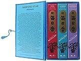 Trimontium Japanische Räucherstäbchen Geschenkset »Blumen« (Lavendel, Rose, Jasmin), Kräuter/Harze/ Wurzeln/ätherische Öle, Natur, 18 x 10 x 4 cm