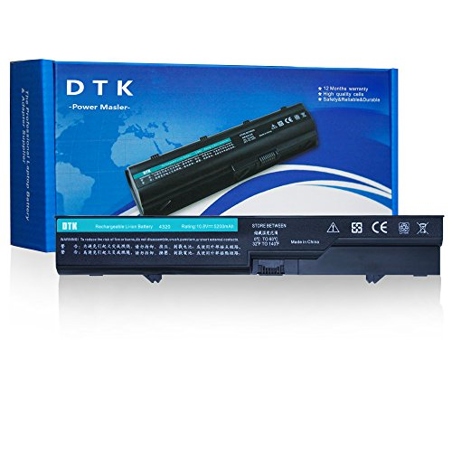 Dtk® Ultra Hochleistung Notebook Laptop Batterie Li-ion Akku für Compaq 320 321 325 326 420 421 425 620 621 625 ;For Hp 420 425 620 625 Probook 4320 4320s 4321 4321s 4320t 4325s 4326s 4420s 4421s 4425s 4520 4525s [ 10.8V 4400mAh 6-cell] (Laptop Akku Für Hp 625)