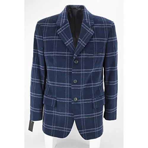 giacca-uomo-48-velluto-bluette-loro-piana-quadri-3bottoni-classica