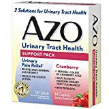 AZO Urinary Support Pack UPR and Cranberry, 32 Count by AZO
