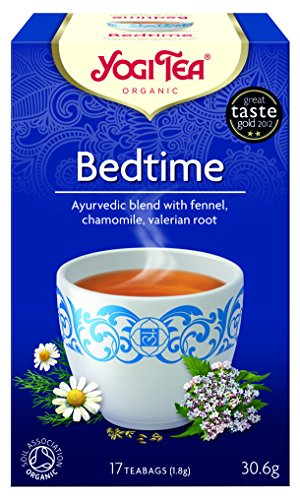Deep sleep and undisturbed calmness balance your life. The sweet taste of Yogi Tea Bedtime Tea with fennel, chamomile and valerian makes you relax before sleep. Enjoy sweet dreams