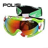 crewpros New 2014polisi Kinder Schneebrille Ski Snowboard Schutzbrille Winter Sport