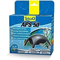 TETRA APS 50 - Pompe à Air pour Aquarium de 10 à 60L -Silencieuse avec triple système anti-bruit - Réglable Puissante et Design-Garantie 3 ans