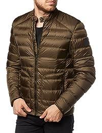 Belstaff Hombres chaqueta cazadora de halewood Verde Musgo