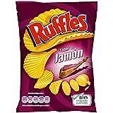 Ruffles Patatas Fritas con Sabor a Jamón - 170 g