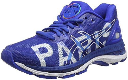 Asics Gel-Nimbus 20 Paris Marathon, Zapatillas de Entrenamiento para Mujer, Azul (Imperial/Imperial/White 4545), 37 EU