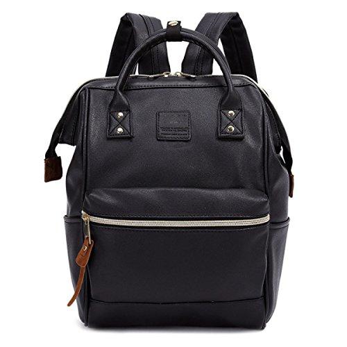 Preisvergleich Produktbild Umhängetasche Reisetasche Tasche Mode Damen Rucksack Daypack Vintage Schultertasche,Black
