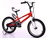 Little Racer FREESTYLE - Bicicleta para bicicletas BMX de 14 pulgadas, color rojo