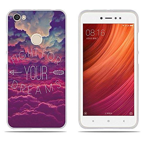 DIKAS Xiaomi Redmi Note 5A Prime Hülle, 3D Erleichterung Fantasie Muster TPU Case Schutzhülle Silikon Case für Xiaomi Redmi Note 5A Prime (5.5