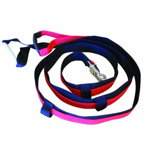 Prism Fitness Quick Release Speed Resistance Trainings-Werkzeug, langlebige Nylon-Leine mit breitem, griffigem Griff, Sprint-Widerstand, hergestellt -