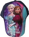 Disney Frozen/Die Eiskönigin Cap - Sisters forever - Schwesterliebe - Anna und Elsa - Dunkellila/Mehrfarbig