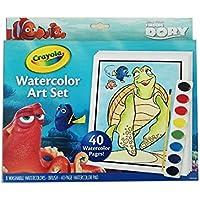 Crayola Set de Papel y Acuarelas (Encontrando a Dory)
